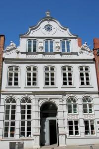 Das Buddenbrookhaus, der Stammsitz der Familie Mann